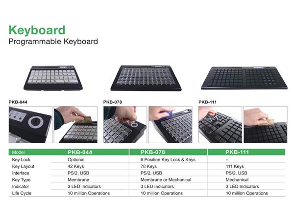 PKB智慧型可程式化鍵盤 1